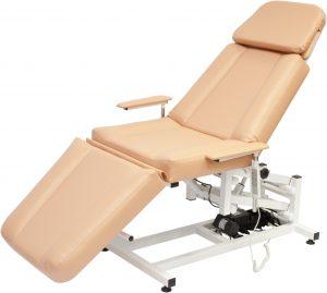Косметологические металлические кресла и кушетки